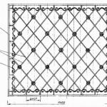 Кованная решетка вариант6