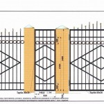 кованый забор вариант12